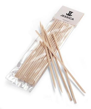 Picture of Jessica - Orange Wood Stick